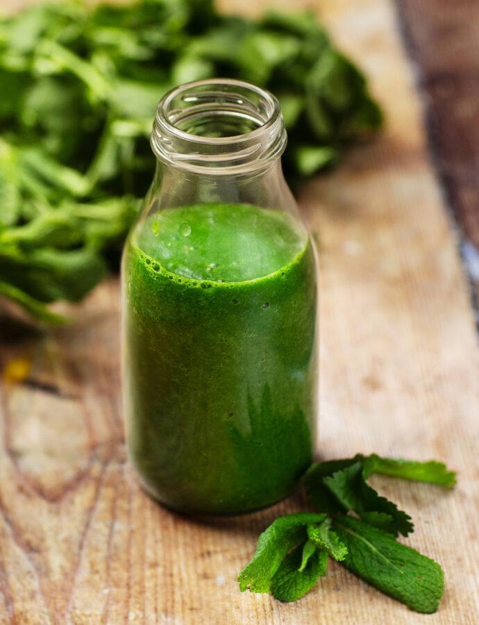 Grön chutney – koriander och mynta