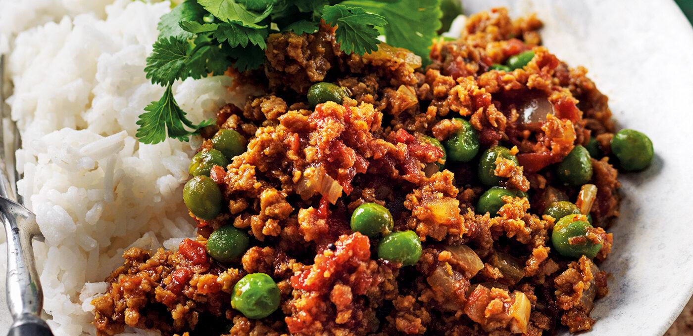 Keema matar – indisk färs med ärtor