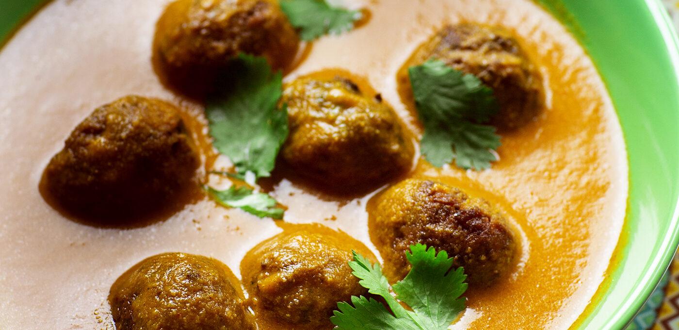 Vegetarisk indisk kofta