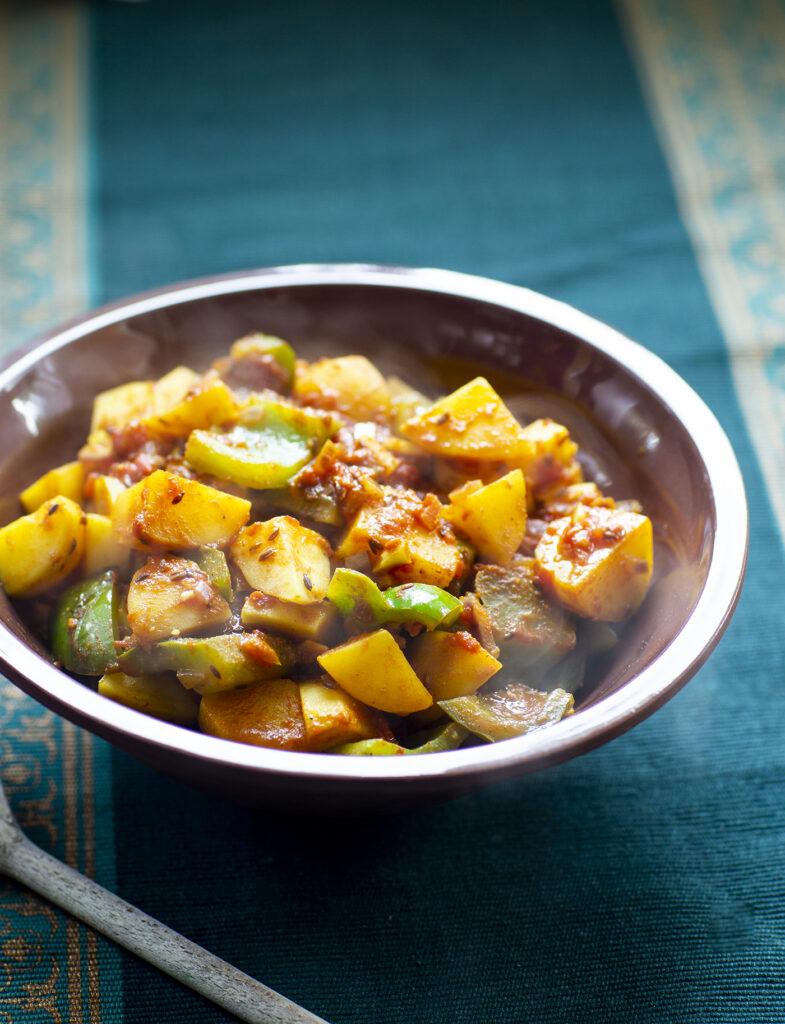 potatiscurry paprika