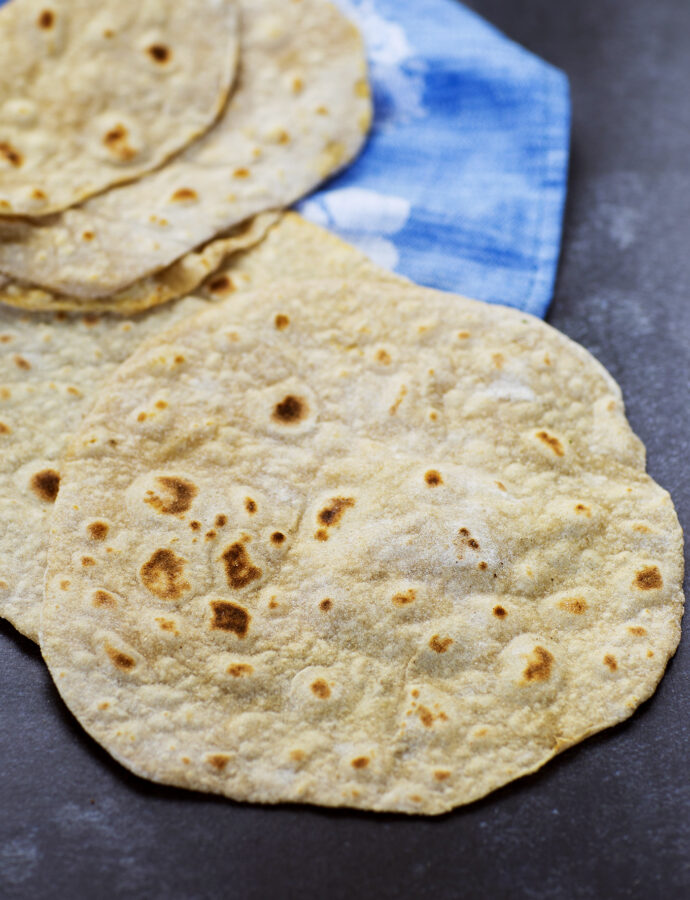 Chapati eller roti – indiska tunnbröd