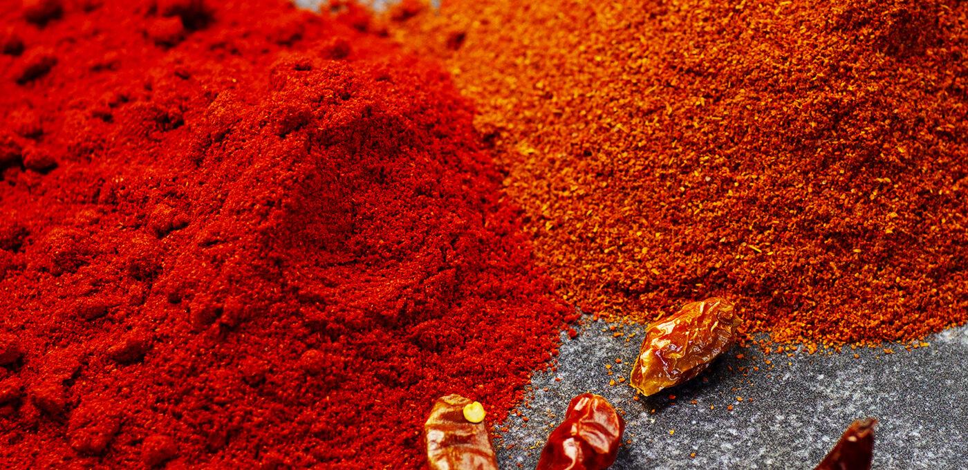 Chilipulver – det ska du leta efter