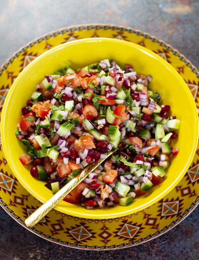 Kachumbar – indisk sallad