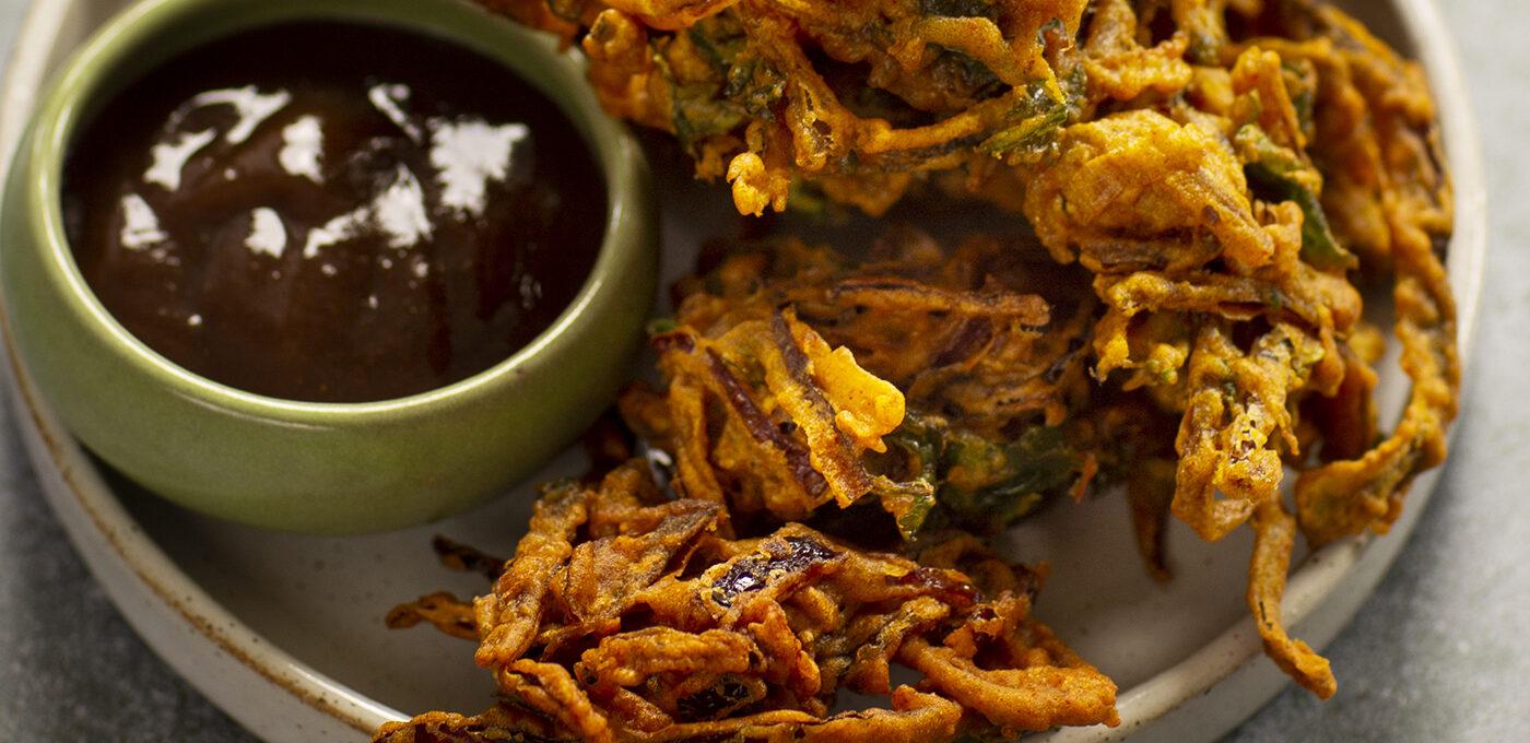 Lökpakora – indiskt friterat snacks