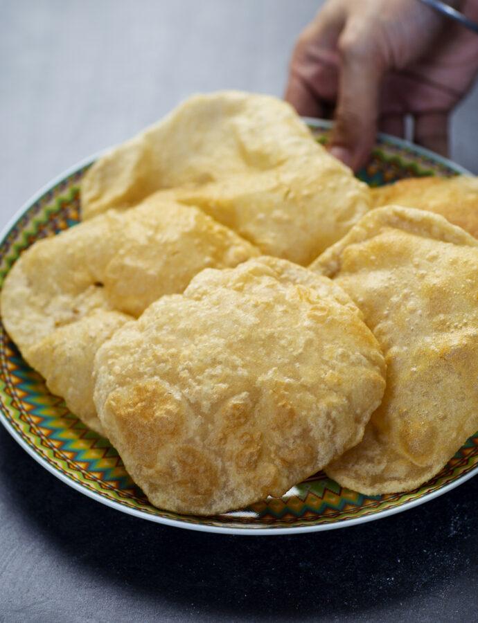 Puri – friterat indiskt bröd