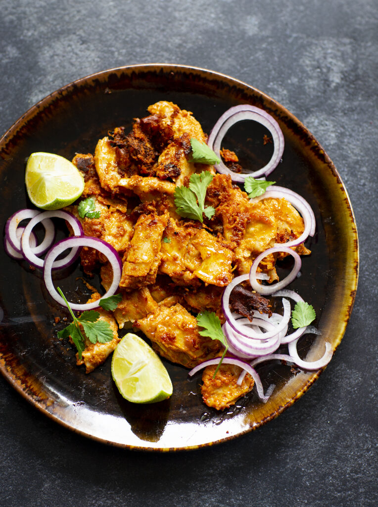 vegetarisk tandoori chicken