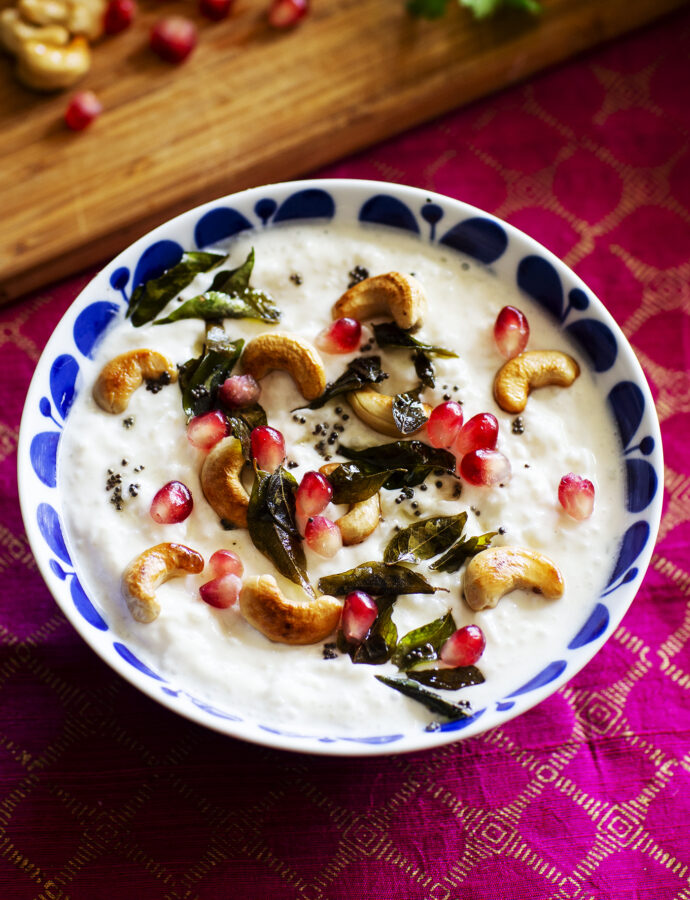 Indiskt yoghurtris – curd rice