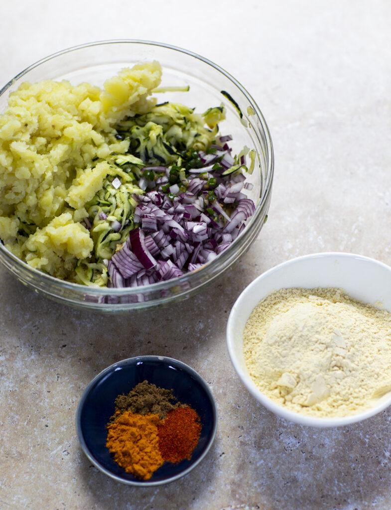 zucchini kofta