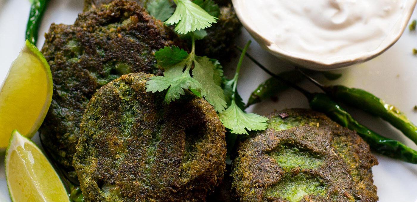 Indisk hara bhara kebab