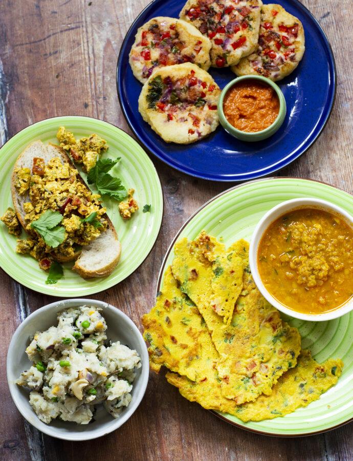 Frukost i Indien