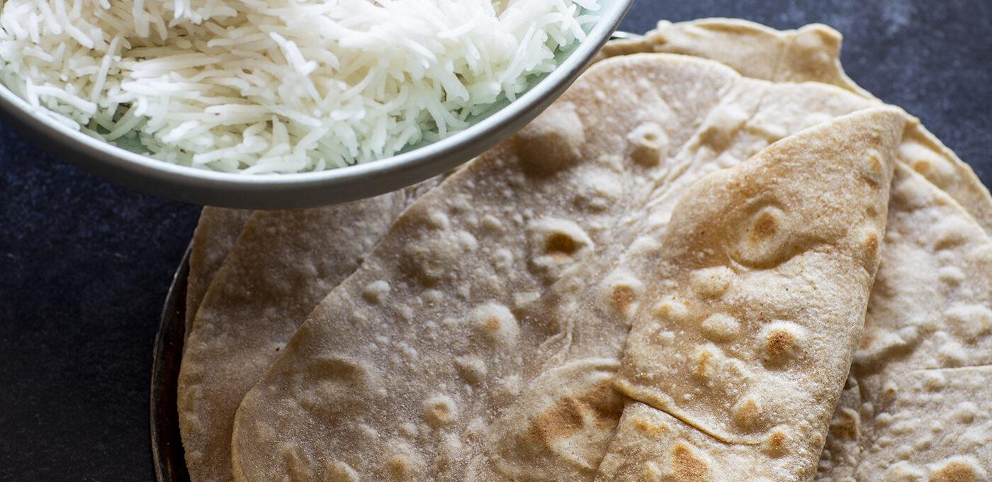 Ris eller roti/chapati – vad ska man servera till?