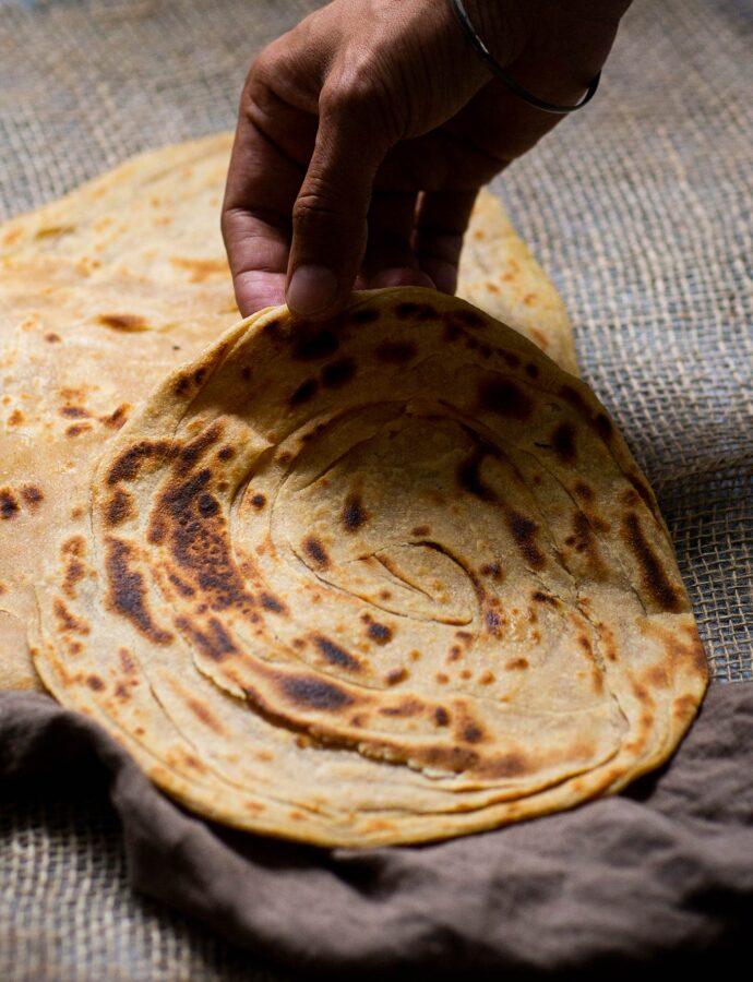 Indiska laccha paratha – lyxiga tunnbröd