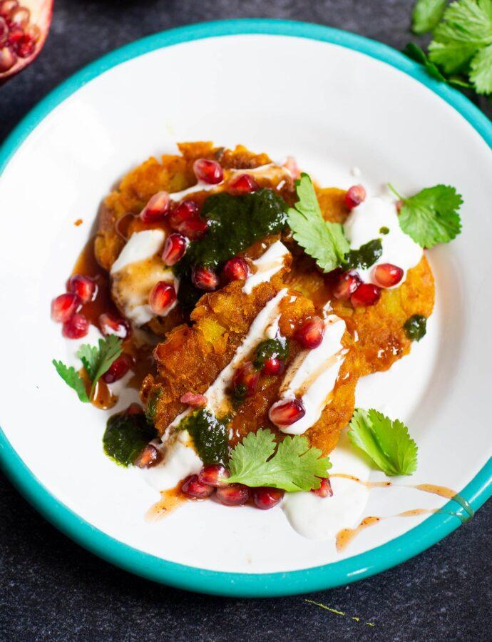 Aloo tikki – indiska potatisfritters