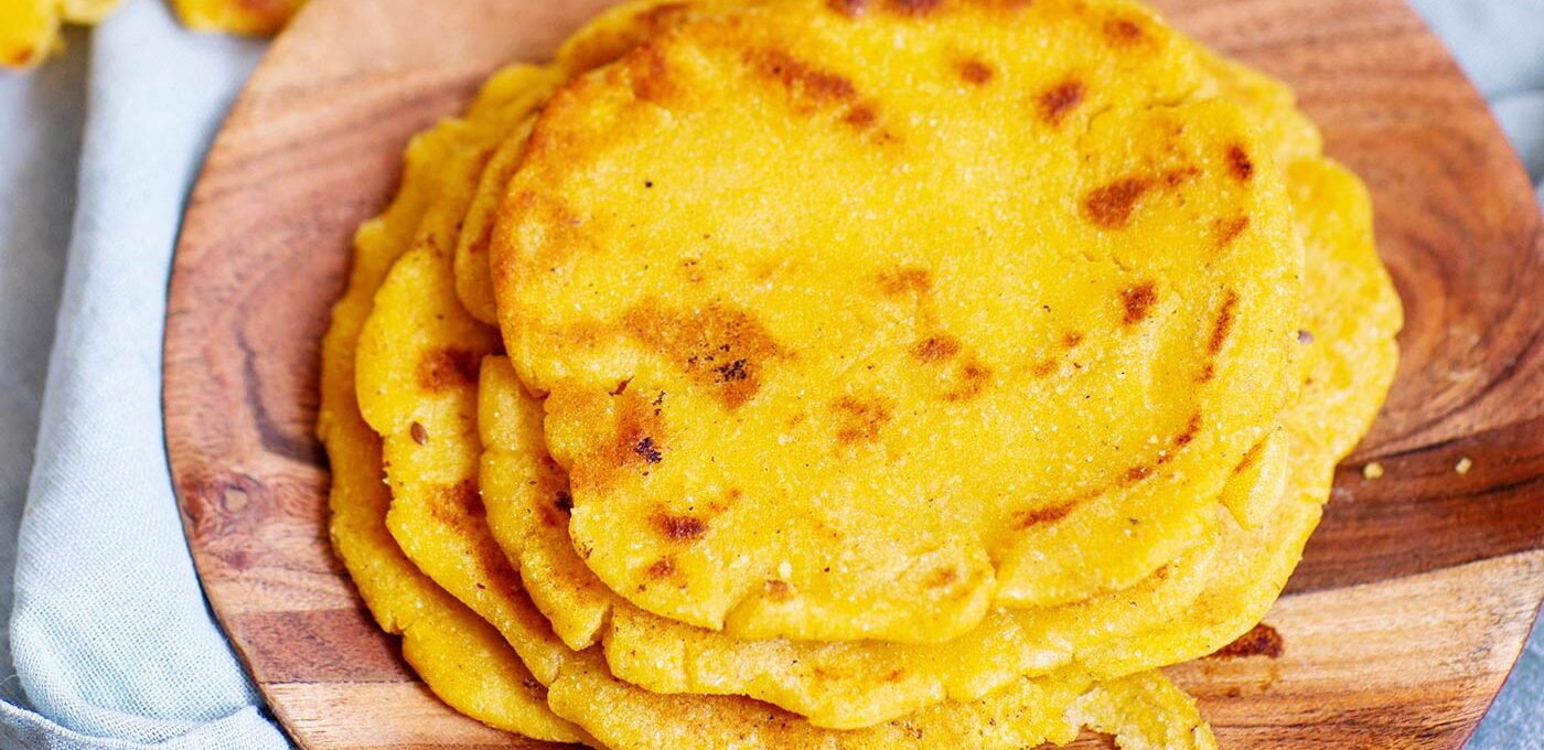 Makki roti – indiskt majsbröd