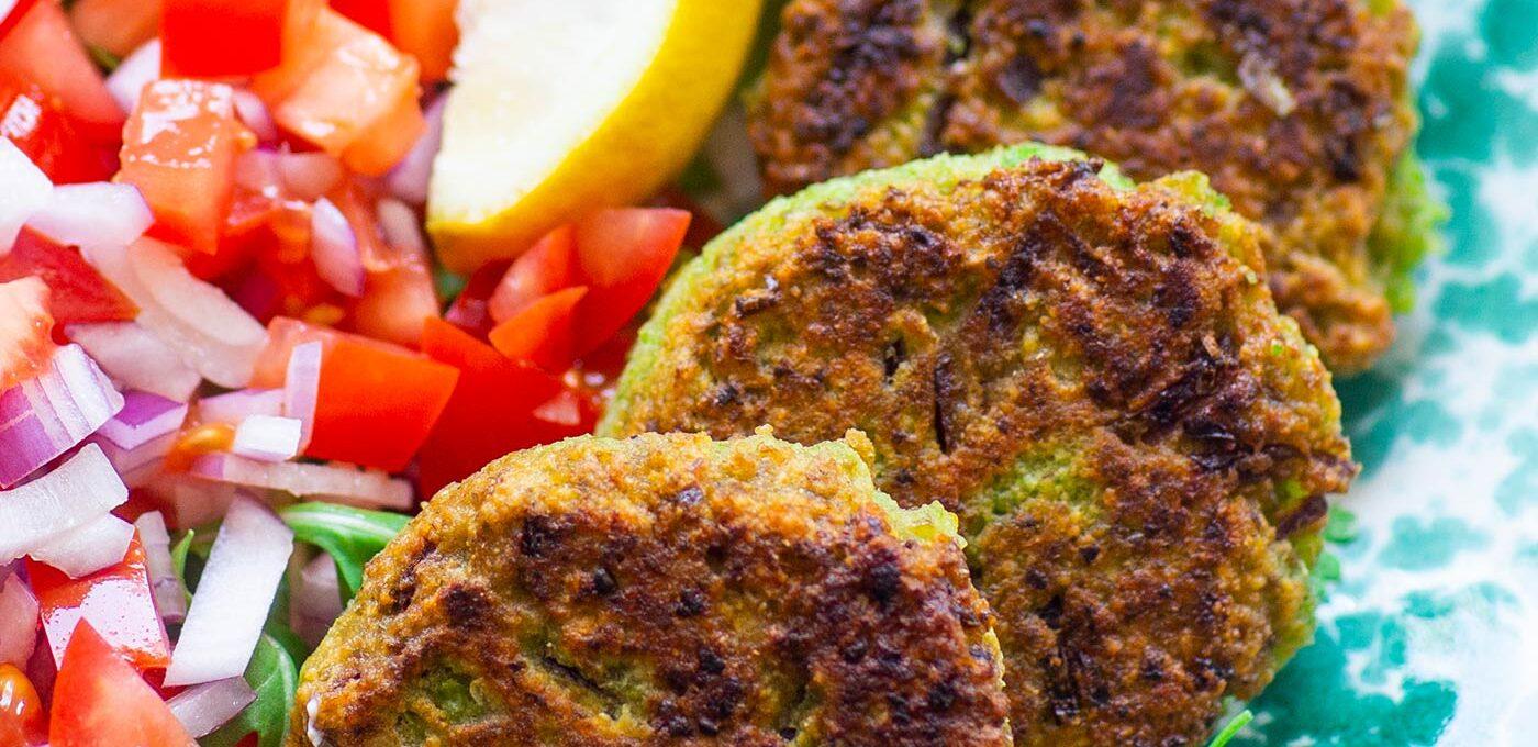 Indiska ärtbiffar – Moong Matar Kebab